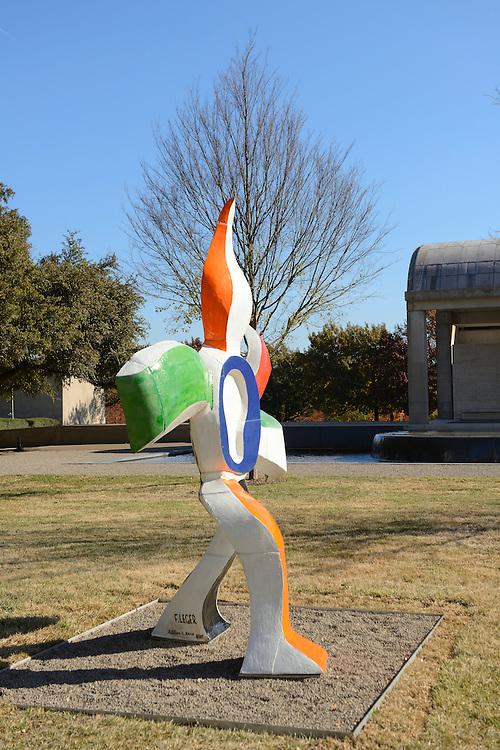 Leger Sculpture,Kimbell Art Museum,Fort Worth,Texas,USA