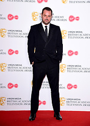 Danny Dyer in the press room at the Virgin Media BAFTA TV awards, held at the Royal Festival Hall in London.