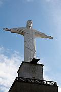 Pocos de Caldas_MG, Brasil...Replica da estatua de Cristo Redentor em Pocos de Caldas...Reply of Christ Redeemer statue in Pocos de Caldas...Foto:LEO DRUMOND / NITRO
