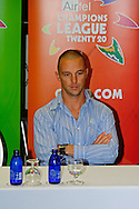 Davey Jacobs during the Warriors press conference held at The Radisson Blu  hotel in Port Elizabeth on the 7th September 2010 held as part of the build up to the Champions League T20 tournament being held in South Africa between the 10th and 26th September 2010..Photo by: Deryck Foster/SPORTZPICS/CLT20