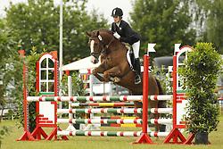 Mannitz, Birte, Loriot 247<br /> Eutin - Dressur- und Springturnier<br /> Ponystilspringen<br /> © www.sportfotos-lafrentz.de/Stefan Lafrentz