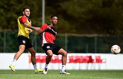 Zak Vyner of Bristol City tussles for the ball with Josh Brownhill of Bristol City  - Mandatory by-line: Joe Meredith/JMP - 19/07/2016 - FOOTBALL - Bristol City pre-season training camp, La Manga, Murcia, Spain