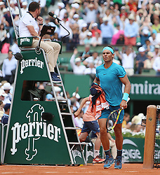 June 4, 2018 - Paris, France - Le joueur espagnol Rafael Nadal  (Credit Image: © Panoramic via ZUMA Press)