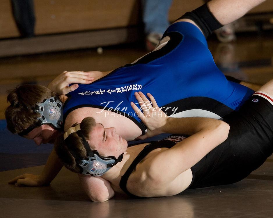 MCHS Wrestling .vs Heritage    .January 6, 2007