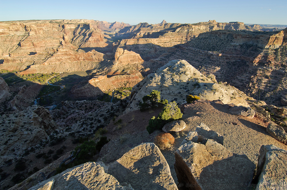 Little Grand Canyon view from Wedge Overlook; San Rafael Swell, Utah