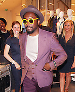 20.JUNE.2012. LONDON<br /> <br /> WILL.I.AM AT THE LACOSTE SHOP LAUNCH PARTY IN KNIGHTSBRIDGE.<br /> <br /> BYLINE: EDBIMAGEARCHIVE.CO.UK<br /> <br /> *THIS IMAGE IS STRICTLY FOR UK NEWSPAPERS AND MAGAZINES ONLY*<br /> *FOR WORLD WIDE SALES AND WEB USE PLEASE CONTACT EDBIMAGEARCHIVE - 0208 954 5968*