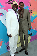 "Los Angeles, CA-June 29:  (L-R) Actor Richard Roundtree and Actor/Recording Artist Leon attends the Seventh Annual "" Pre "" Dinner celebrating BET Awards hosted by BET Network/CEO Debra L. Lee held at Miulk Studios on June 29, 2013 in Los Angeles, CA. © Terrence Jennings"