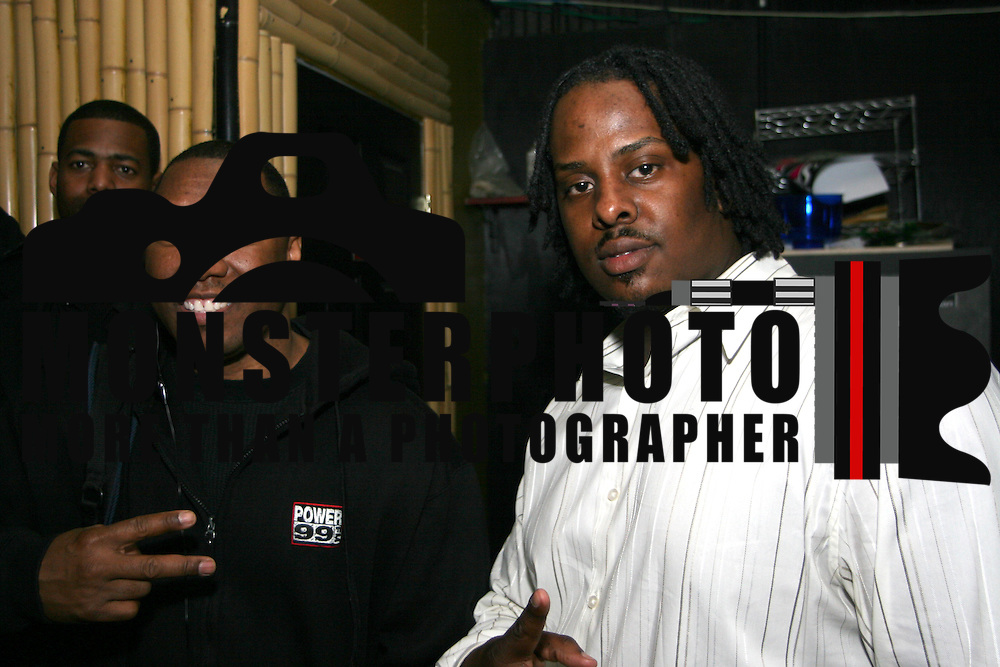 03/23/08 Hockessin, DE - Power 99 own Doc B and D. Gayson owner of Empire Events pose for the camera. Saquan Stimpson / Special to Spark