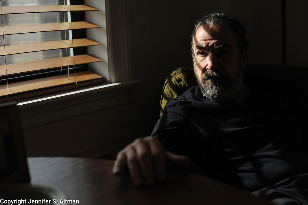MANHATTAN, NEW YORK, NOVEMBER 15, 2012 Actor and singer Mandy Patinkin, who currently stars in Homeland, is seen in his home in Manhattan, NY. 11/15/2012 Photo by Jennifer S. Altman/For The Times