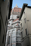 Duomo as seen through other buildings, Florence, Italy, Florence, Italy