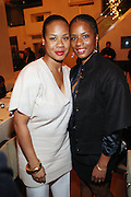 26 October 2010- New York, NY-l to r:  Ayodele Nieyela Roach and sister, Dara Rashida Roach at The Grey Goose & Uptown Rising Icon Dinner NY Tastemaker Edition held at Pranna on October 26, 2010 in New York City. Photo Credit: Terrence Jennings