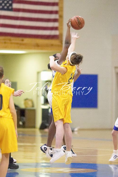 8th Grade Girls Basketball..vs Rappahannock..First Period..December 9, 2004