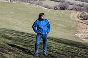 16 February 2017, Barrea, AQ Italy - Shepherd
