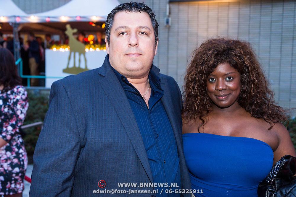 NLD/Utrecht/20130925 - Opening NFF 2012 - premiere Hoe Duur was de Suiker, Robert Vuijsjes en partner Lynn Spier
