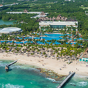 Aerial view of the Grand Mayan in the Riviera Maya, Mexico.