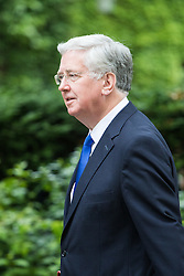 Downing Street,  London, June 27th 2015. Defence Secretary Michael Fallon arrives for the first post-Brexit cabinet meeting at 10 Downing Street