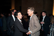 NANCY DELL D'OLIO; BEN BRADSHAW, Private view for the Turner prize exhibition. Tate Britain. London. 4 October 2010. -DO NOT ARCHIVE-© Copyright Photograph by Dafydd Jones. 248 Clapham Rd. London SW9 0PZ. Tel 0207 820 0771. www.dafjones.com.