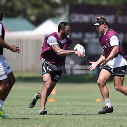 Clement Poitrenaud during The Cell C Sharks High CNS Rugby / Skills / Field Conditioning KP2, session at Growthpoint Kings Park in Durban, South Africa. December 9th December 2016 (Photo by Steve Haag)<br /> <br /> images for social media must have consent from Steve Haag