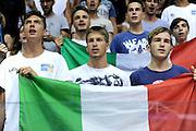 LIGNANO SABBIADORO, 13 LUGLIO 2015<br /> BASKET, EUROPEO MASCHILE UNDER 20<br /> ITALIA-SERBIA<br /> NELLA FOTO: tifosi<br /> FOTO FIBA EUROPE/CASTORIA