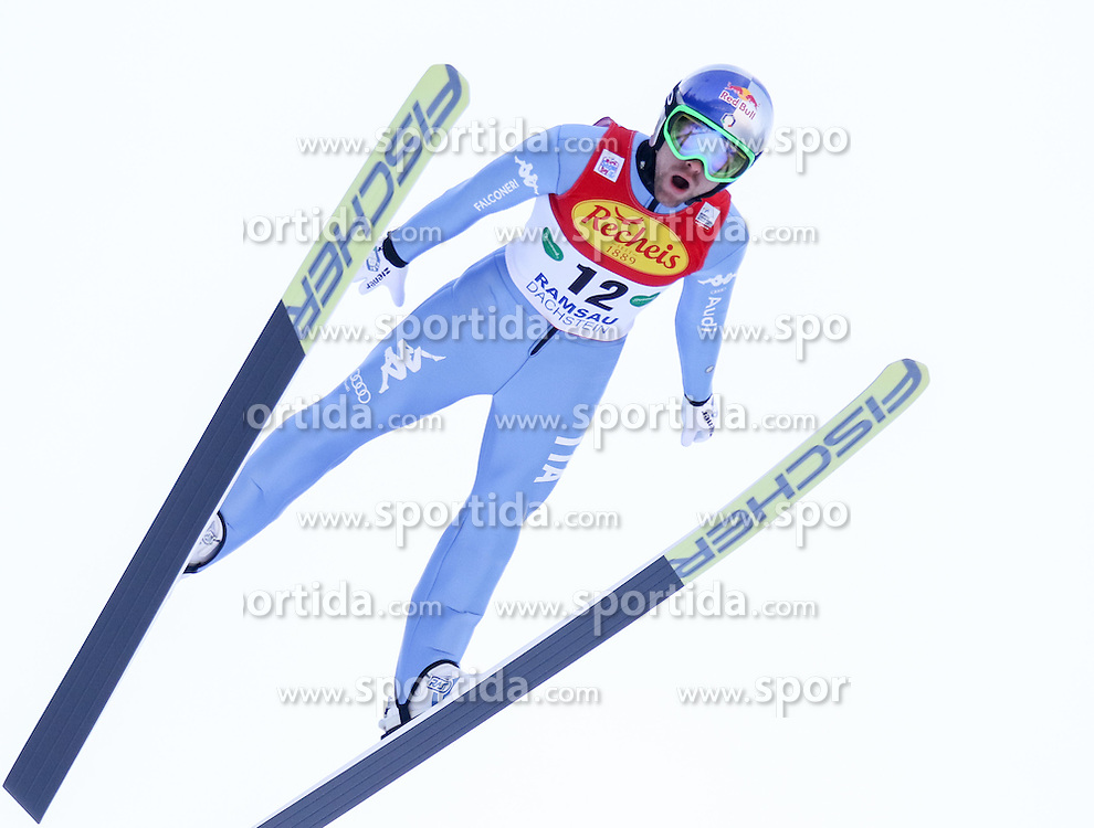 17.12.2016, Nordische Arena, Ramsau, AUT, FIS Weltcup Nordische Kombination, Skisprung, im Bild Alessandro Pittin (ITA) // Alessandro Pittin of Italy during Skijumping Competition of FIS Nordic Combined World Cup, at the Nordic Arena in Ramsau, Austria on 2016/12/17. EXPA Pictures © 2016, PhotoCredit: EXPA/ Martin Huber
