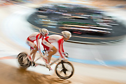 , POL, Sprint Qualifiers, 2015 UCI Para-Cycling Track World Championships, Apeldoorn, Netherlands