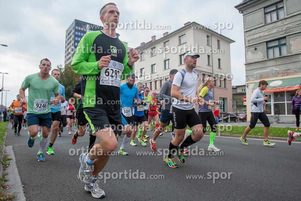Martin Rupnik during 19th Ljubljana Marathon 2014 on October 26, 2014 in Ljubljana, Slovenia. Photo by Urban Urbanc / Sportida.com