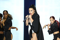 June 24, 2018 - Lisbon, Portugal - US singer Demi Lovato performs at the Rock in Rio Lisboa 2018 music festival in Lisbon, Portugal, on June 24, 2018. (Credit Image: © Pedro Fiuza via ZUMA Wire)