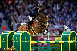 WHITAKER Michael (GBR) Calisto Blue<br /> Genf - CHI Rolex Grand Slam 2017<br /> Grand Prix Rolex - Rolex Grand Slam of Show Jumping<br /> © www.sportfotos-lafrentz.de