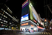Photo shows the Bic Camera electronics store in the Ginza district of Tokyo, Japan on Tuesday 16 Nov. 2010..Photographer: Robert Gilhooly
