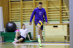 Jani Kovacic during training camp of Slovenian Volleyball Men Team before Qualification tournament for FIVB Volleyball World Championship, on May 11, 2017 in Arena Vitranc, Kranjska Gora, Slovenia. Photo by Matic Klansek Velej / Sportida