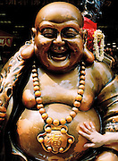 Good luck Buddha near the Goddess of Mercy temple