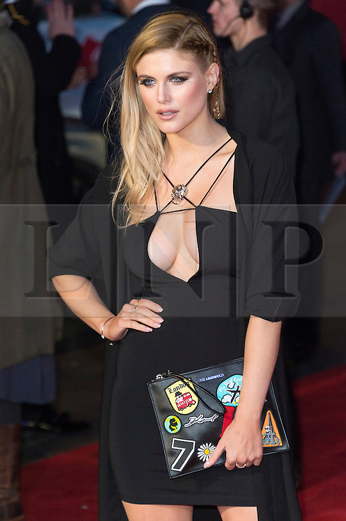 © Licensed to London News Pictures. 22/03/2016. ASHLEY JAMES attends the Batman V Superman: Dawn of Justice European film premiere. The film is based on the DC Comics characters. London, UK. Photo credit: Ray Tang/LNP