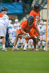 05 April 2008: Virginia Cavaliers goalkeeper Bud Petit (8) during a 11-12 OT win over the North Carolina Tar Heels on Fetzer Field in Chapel Hill, NC.
