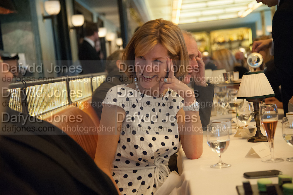 ANNA CARTER, Vanity Fair Lunch hosted by Graydon Carter. 34 Grosvenor Sq. London. 14 May 2013