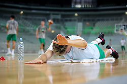 at first practice of KK Petrol Olimpija in season 2018-19, on August 6, 2018 in SRC Stozice, Ljubljana, Slovenia. Photo by Matic Klansek Velej / Sportida