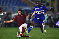Davide Astori Roma, Stefano Okaka Sampdoria <br /> Roma 16-03-2015 Stadio Olimpico Football Calcio Serie A 2014/2015 AS Roma - Sampdoria . Foto Andrea Staccioli / Insidefoto<br /> Fiorentina captain Davide Astori dies suddenly aged 31 . <br /> Astori was staying a hotel with his team-mates ahead of their game on Sunday away at Udinese when he passed away. <br /> Foto Insidefoto