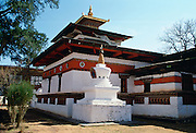 Buddhist Kyichu Temple in Bhutan