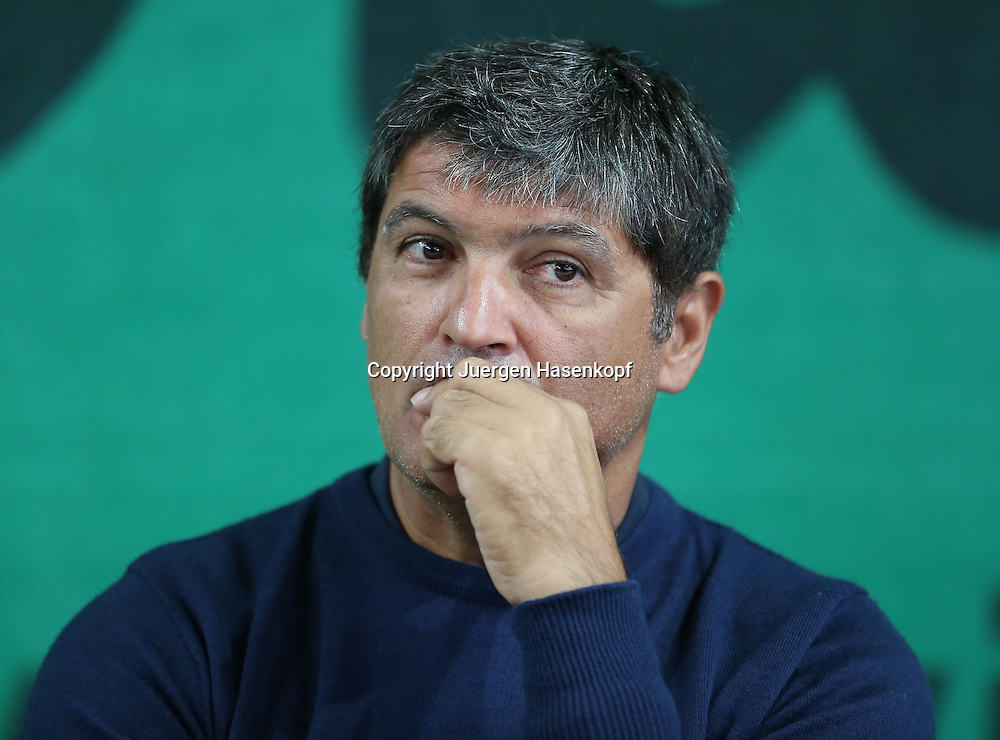 GLOBAL PROFESSIONAL TENNIS COACH ASSOCIATION (GPTCA) C-LEVEL KURS in Muenchen.Toni Nadal (ESP),Trainer,coach,. Einzelbild,Halbkoerper,Querformat,Portrait,