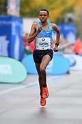 Mosinet Geremew (ETH) places third in 2:06.12 in the 44th Berlin Marathon in Berlin, Germany on Sunday, September 24, 2017. (Jiro Mochizuki/Image of Sport)