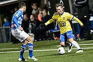 Voetbal Leeuwarden Eredivisie 2014-2015 SC Cambuur - PEC Zwolle: L-R Albert Rusnák van SC Cambuur Leeuwarden