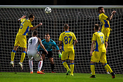 Adnan Golubovic of NK Domzale, Kenan Horic of NK Domzale during football match between NK Domzale and FC Lusitanos Andorra in second leg of UEFA Europa league qualifications on July 7, 2016 in Andorra la Vella, Andorra. Photo by Ziga Zupan / Sportida
