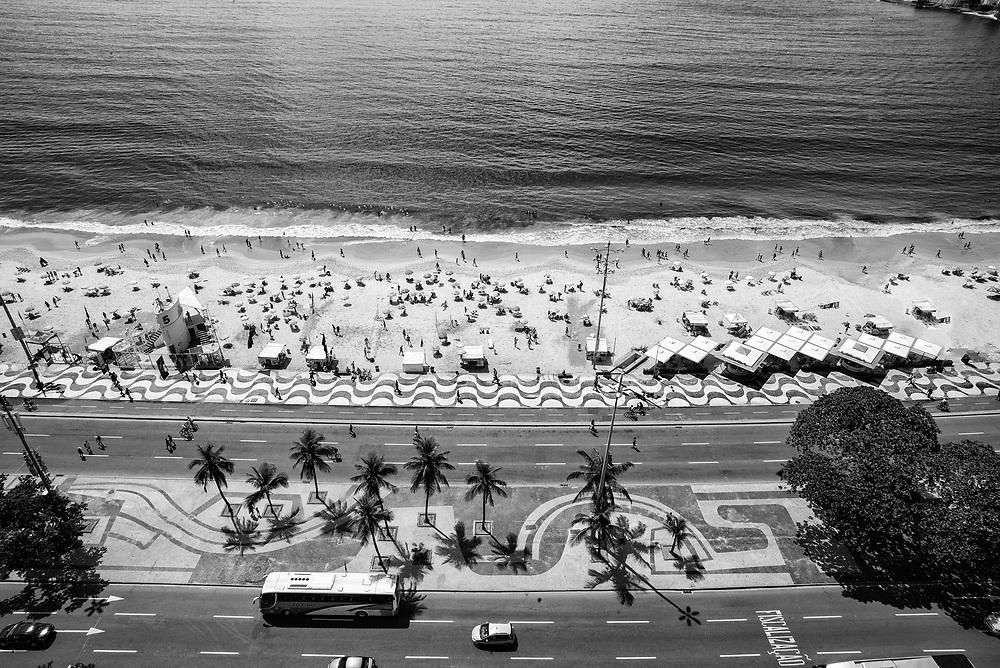 Posto 5 fotografada do terraço do Hotel Miramar