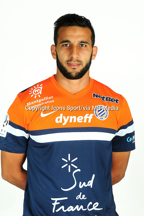 Adbelhamid EL KAOUTARI - 02.09.2013 - Presentation des joueurs de Montpellier - <br /> Photo : / Icon Sport