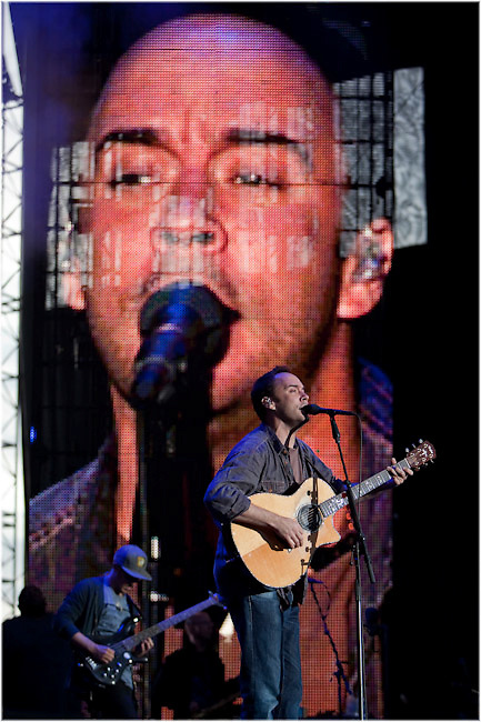 Dave Matthews performs at Parc Jean Drapeau in Montreal. PHOTO BY TIM SNOW