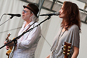 Buddy Miller and Patty Griffin at the Appel Farms Festival, Elmer, NJ 6/5/2010.