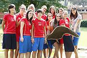 Roma, 02/09/2009<br /> Centro Sportivo Coni Giulio Onesti<br /> Nella foto: le ragazze di college italia<br /> Foto Ciamillo