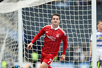 Football - 2016 / 2017 Scottish League Cup - Semi-Final - Greenock Morton vs. Aberdeen<br /> <br /> Kenny McLean of Aberdeen celebrates scoring the second goal during the semi final at Hampden Park.<br /> <br /> COLORSPORT/LYNNE CAMERON
