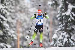 March 9, 2019 - –Stersund, Sweden - 190309 Klemen Bauer of Slovenia competes in the Men's 10 KM sprint during the IBU World Championships Biathlon on March 9, 2019 in Östersund..Photo: Petter Arvidson / BILDBYRÃ…N / kod PA / 92252 (Credit Image: © Petter Arvidson/Bildbyran via ZUMA Press)