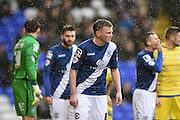 Birmingham City midfielder Stephen Gleeson (8) during the Sky Bet Championship match between Birmingham City and Sheffield Wednesday at St Andrews, Birmingham, England on 6 February 2016. Photo by Jon Hobley.