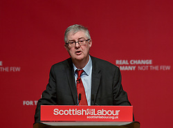 First Minister of the Welsh Assembly Mark Drakeford speaks to the the Scottish Labour spring conference 2019 in Dundee.<br /> <br /> &copy; Dave Johnston / EEm